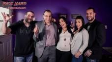Roxy Lane et Shana Lane avec Jay GoldFiger Lex , Steve Talbot et biensur Rick Hard